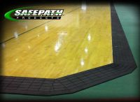 ADA compliant flooring - Ramps for Basketball courts ADA Compliance Ramps threshold ramps for wheelchair access Court Edge Reducer Ramp Drawings for ADA compliance. Rubber Transition ramps for wheelchair access.